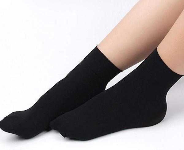 15 - 20 mmHg Black circulation stockings
