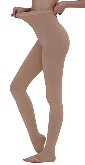 Maternity compression stockings/compression pantyhose for pregnancy to promote better blood circulation