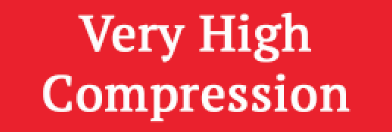 Very high compression