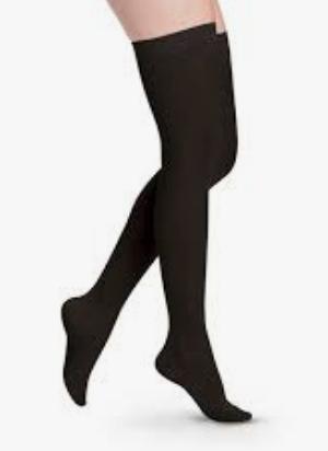 Thigh high circulation legwear