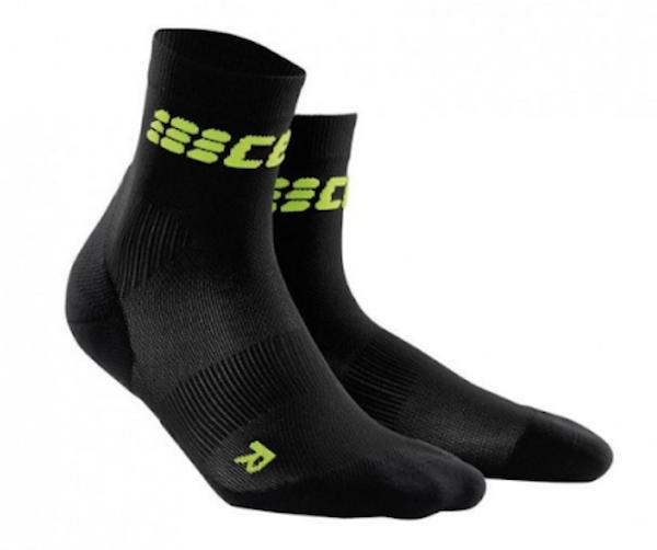 Black ankle support socks