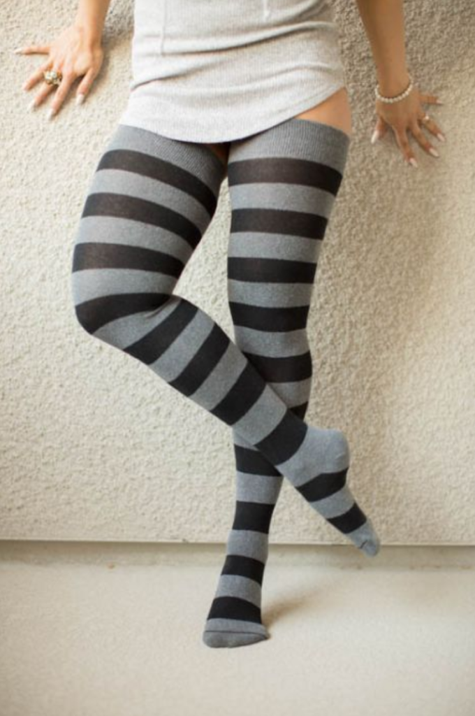 Thigh High Compression Stockings Can Still Be Stylish and Comfortable While Also Improving Blood Flow in Your Legs