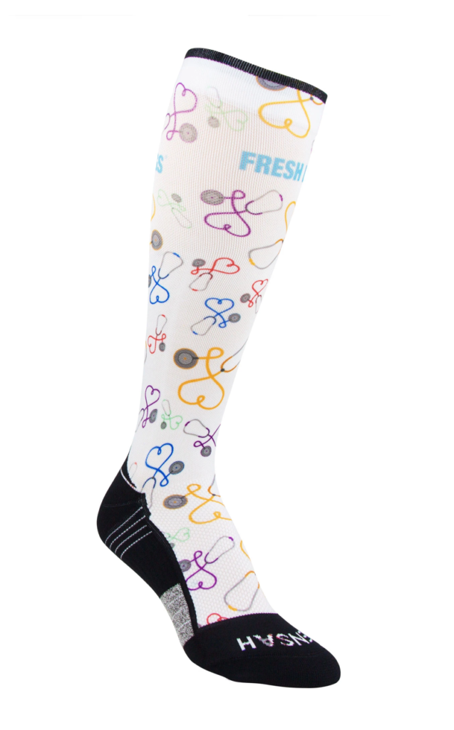 Picture of the Best Knee High Nursing Compression Socks