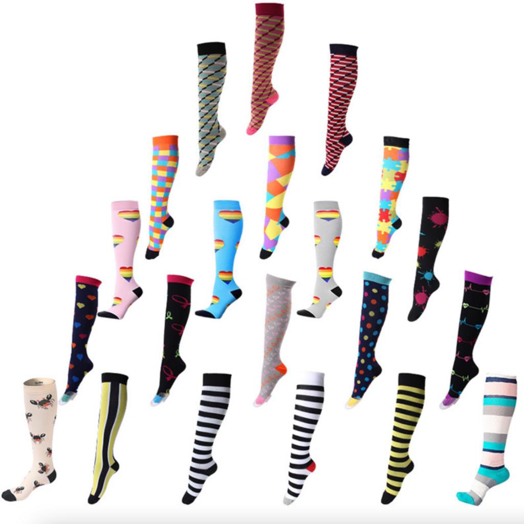 20-30 mmHg Compression Socks Designs