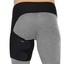 Thigh compression wrap