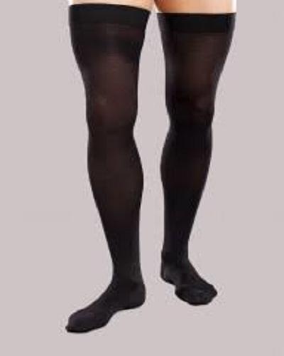 Thigh-high Compression Socks