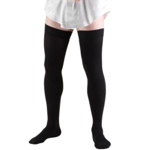 wide thigh highs plus size support hosiery