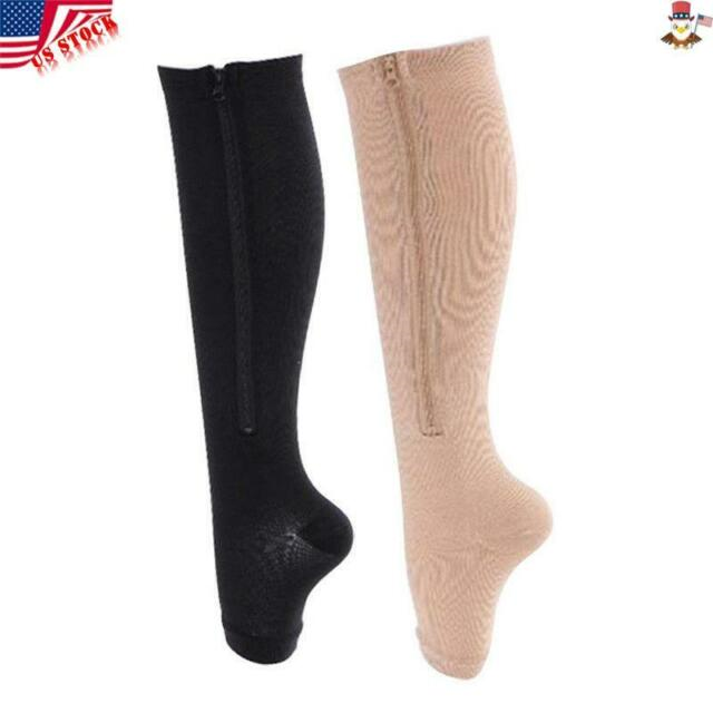 Type of mmHg Knee High Zipper Stockings