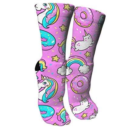 Unicorn Compression Fun Socks for Girls