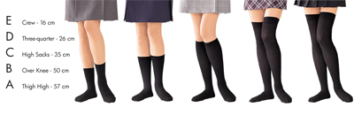 Knee-highs compression support socks vs Thigh-high compression socks