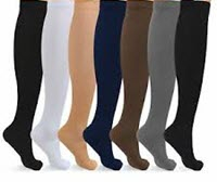 colored women compression socks