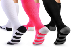 Wear Compression Socks to boost circulation in legs