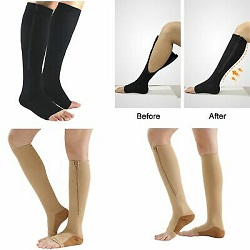picture showing effects of pressure socks
