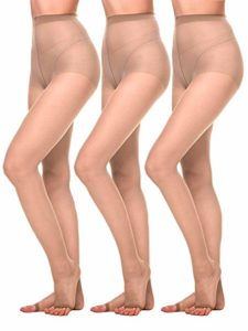 Women Toeless Sheer Pantyhose