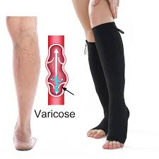 Zipper Stockings for Varicose Patients