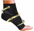 Black Ankle Compression Socks