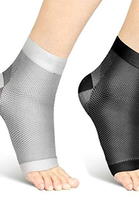 ankle high compression hosiery for men and women