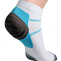 ankle high athletic sock