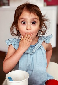 A meme of a child surprised that anti-clot stockings are different from compression stockings