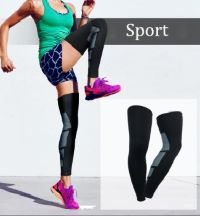 picture showing person working out wearing compression socks