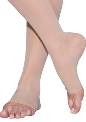 image of compression hosiery and compression stockings for the purpose of treatment of dvt