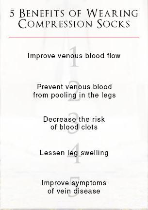 benefits of pressure on legs