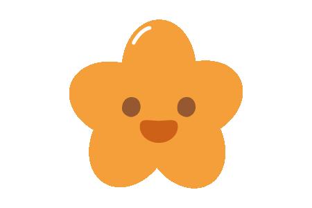 a cartoon illustration of a potato