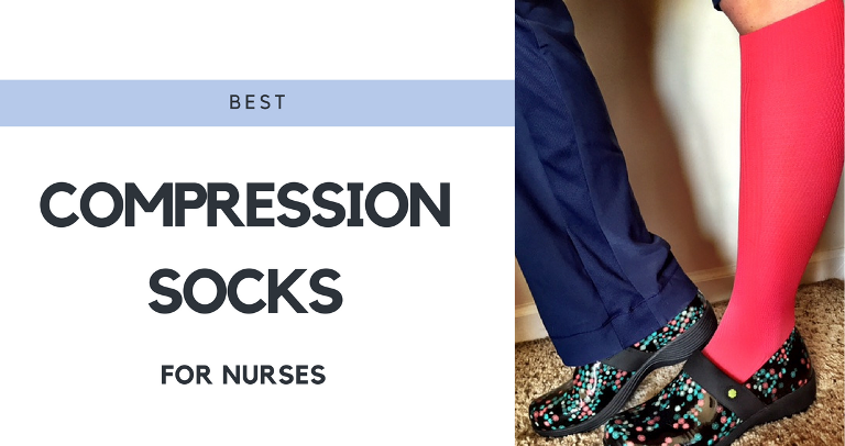 Picture showing the best compression socks for nurses