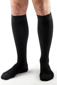 black closed toe unisex comperession-legwear