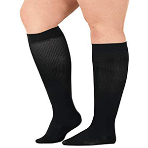 black-compression-socks-for-nurses