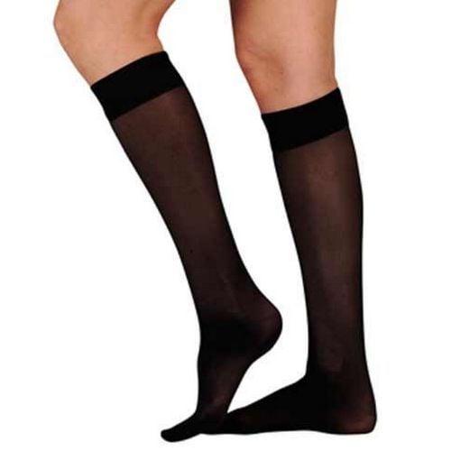 15 - 20 mmHg Black knee high circulation stockings