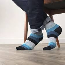 Blue and Black Strips style.