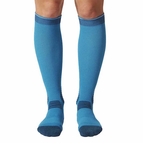 Compression socks for men of 20-30 mmHg in blue