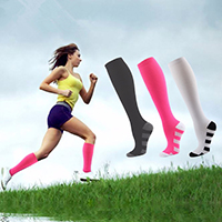 breathable athletic hosiery for ladies
