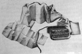 compression bandages during world war II