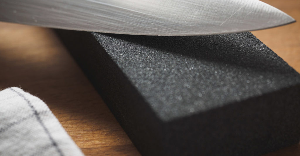 cleaning your sharpening stone