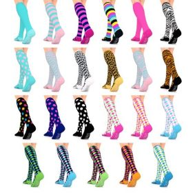 Compression socks complement your style