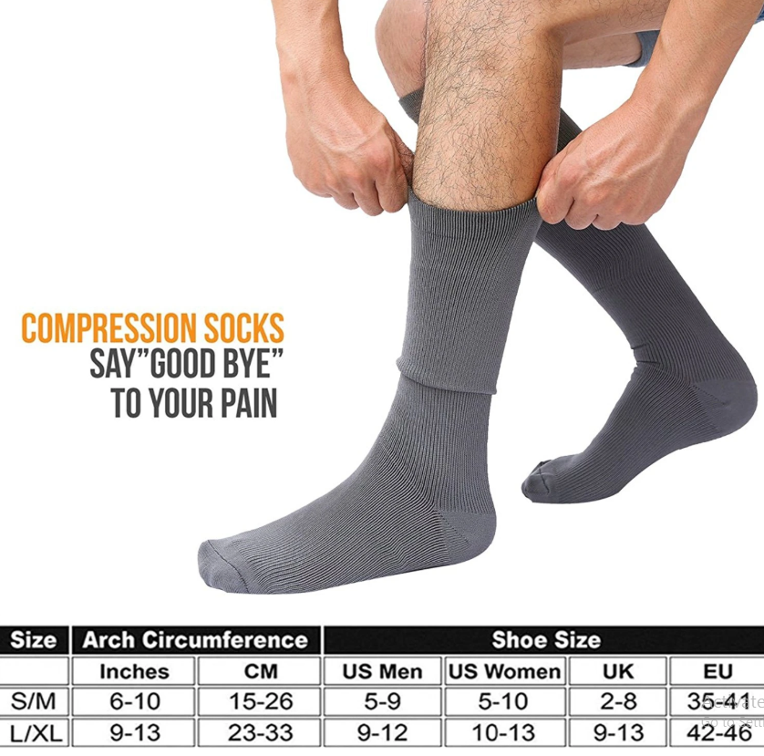 Compression socks compression level chart