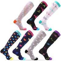 various compression socks color