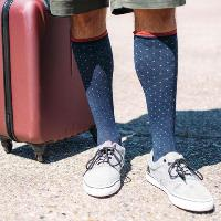 compression socks are good for travel