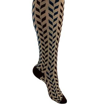 Get 15 mmHg to 20 mmHg or 20 mmHg to 30 mmHg knee high compression socks