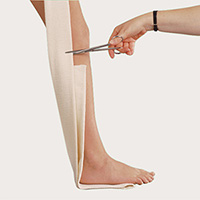 correct limb length for the treatment of strains and sprains