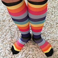 cute Wide calves compression socks and compression stockings