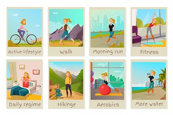 different daily exercise techniques