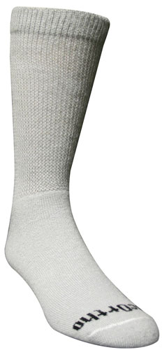 White Long Ortho pressure Socks for individuals diagnosed with edema.