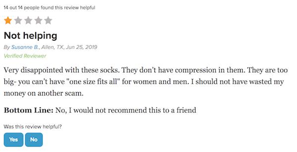 Doc Socks complaint 10