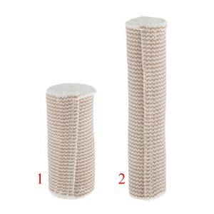 rolled up elastic compression bandages
