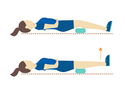 elevation of body to increase blood flow