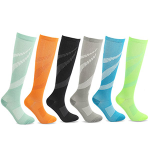 fashionable compression socks for men - a variety of colors