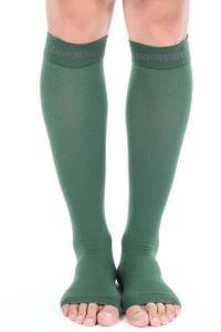 Knee-High-Toeless-Compression-Socks
